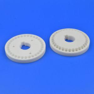 先発の陶磁器耐久力のあるAl2O3アルミナの陶磁器のディスク弁