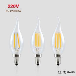 4W 6W E14 B22 Velas LED lustre a Lâmpada