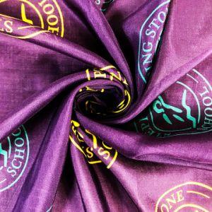 試供品はMOQデジタルプリント絹綿の大きい正方形のスカーフをカスタム設計しない