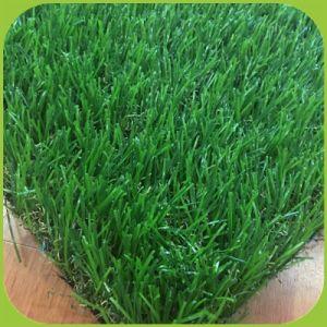 Natürlicher beige Thatch-künstlicher Gras-Rasen-künstlicher Gras-Matten-Garten-künstliches Gras