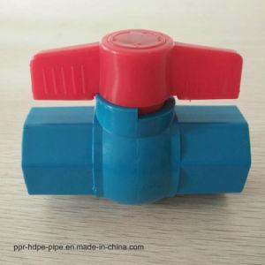 Clapet à bille d'irrigation en plastique de la liste des prix bas prix de gros
