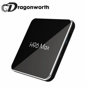Media des Android-8.1 intelligenter maximaler S905X2 4G 32g gesetzter Spitzenkasten des Fernsehapparat-Kasten-H96 gesetzter Spitzenkasten-drahtloser der Tastatur-4GB 32GB