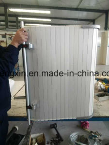 Portello di alluminio esterno automatico superiore dell'otturatore del rullo di obbligazione