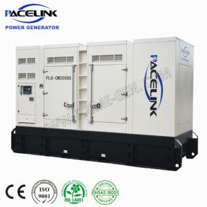 350kVA Cummins Powered ultra silencieuse avec ce groupe électrogène diesel/ISO
