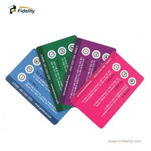 Dupla frequência UHF+MIFARE 1K 4 K etiquetas RFID Smart Card para rastreamento de veículos