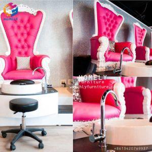 La belleza de la madera de lujo de la rosa de oro Australia Salon Spa masaje de pies de Manicura Pedicura Pedicura Spa con hidromasaje de la estación de bancos presidente