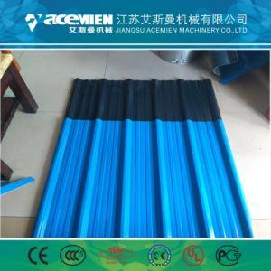 Mattonelle di tetto della resina sintetica che fanno la linea di produzione del tetto della macchina/PVC+ASA
