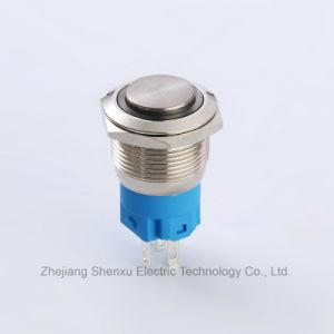 19mmの1no1ncによって維持される金属の押しボタンスイッチ