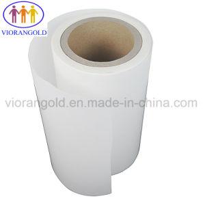 60g/70g/80g/90g/100g/110g/120g de revestimento de PE branco/amarelo a libertação do papel de autocolantes