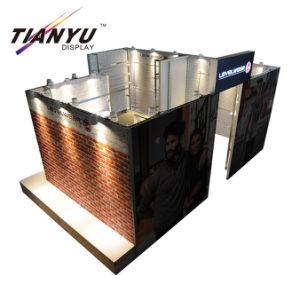 Basamento portatile stampato su ordinazione della cabina della visualizzazione della fiera commerciale