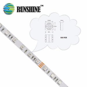 À prova de água opcional 5050 SMD LED flexível RGB Strip para Piscina Piscina