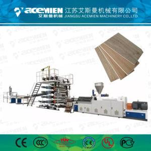 機械生産ラインを作る人工的なPVC大理石の床板シート
