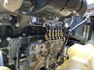 D6AC는 Hyundai R375LC-7h R2900LC-7를 위한 디젤 기관 엔진을 완료한다