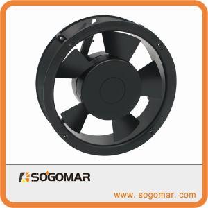 172X172X52mmの6inchキャビネットの冷却のための円形のパネルのファン220-240VAC