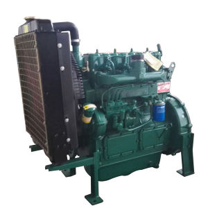 Motor eléctrico de grande capacidade de reboque de Esgoto Self-Priming montado na bomba de água