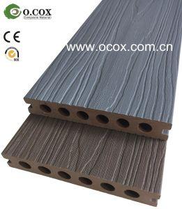 Nova geração de polímero Co-Extrusion tampadas WPC Madeira deck composto de plástico