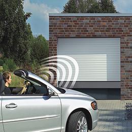 Portello sezionale del garage con il comitato di 40mm