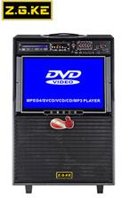 두 배 10 인치 로드 스피커 DVD 기능 22 인치 LCD 스크린 스피커