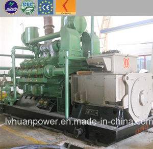 CER anerkannter elektrischer Strom-Generator des Biogas-500kw