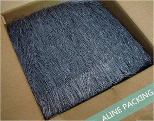 Onduladas Fibras de aço. Crimpped Fibras de aço ondulado de fibras de aço