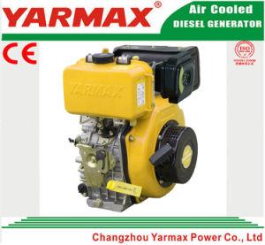 Lucht van Yarmax koelde het Enige Elektrische Begin van de Cilinder 170f 3HP 4HP met de Dieselmotor van Ce ISO