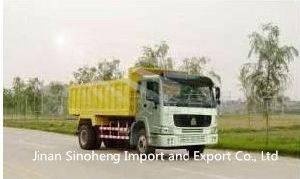 290HP Sinotruk HOWOのトラックのダンプカー4X2 6wheels
