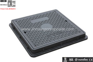 Lock En124 C250 650X650mm (JM-MS201C)のFRP Square Composite Manhole Cover