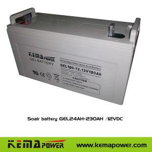 Гель 100-12D-15 стандартной продукции аккумуляторные батареи для использования солнечной энергии UPS