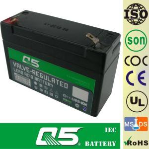 4v3 2ah Bateria Recargable Para La Luz De Emergencia La