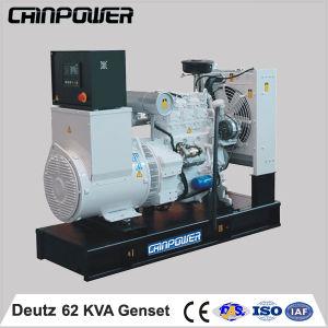 50kw 62kVA Deutz Open Type Diesel Generator met ATS voor Factory