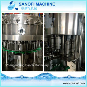 Volledige Automatische het Vullen van het Sodawater van de Fles Machine