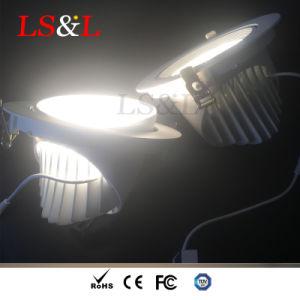 スーパーマーケットの照明のための>100lm/Wの高い明るさ引込められたLEDのスポットライト