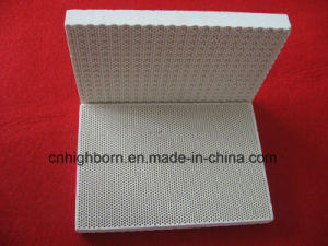 Gaz infrarouge Honeycomb cordiérite plaque en céramique