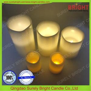O LED da bateria velas de Natal no conjunto de oferta