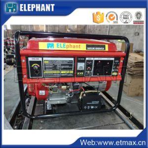 Лучшая бытовая мощность генератора 5 квт 6.3kVA открытого типа бензина генератора