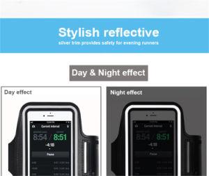 iPhone 7plusのためのユニバーサルスポーツの腕章の携帯電話の腕章の電話箱を実行する熱い販売
