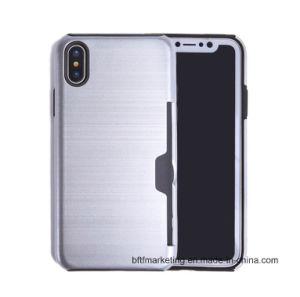 iPhone Xのためのカードスロットとの新しい到着のケース
