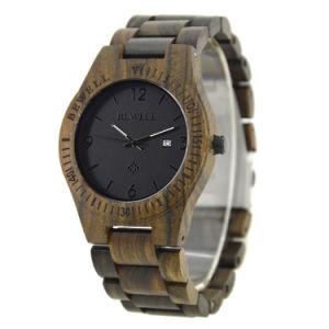 Meilleure vente chaude Quartz Bewell Handmade Fashion montre-bracelet bois