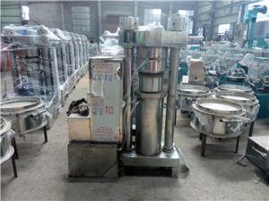Sesam-Öl, das Maschinen-/Startwert- für Zufallsgeneratoröl-extraktion hydraulischer Typ Olivenöl-Presse-Maschine bildet