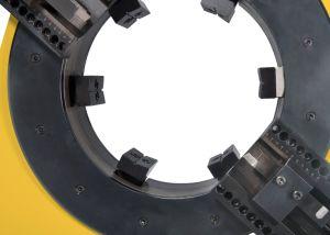 研修会の静止した高速管の切断そして斜角が付く機械