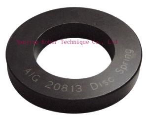 Plat et ressort à disque unique / Rondelle à ressort dans une bonne qualité