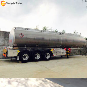 Aluminiumstahlkraftstoff-Tanker-Schlussteil-Kraftstoff-halb Schlussteil