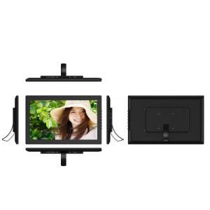 Visualizzazione fissata al muro del contrassegno di Digitahi dello schermo dell'affissione a cristalli liquidi del Android dello schermo di tocco