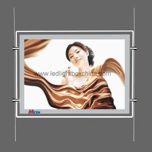 絹プリントロゴのアクリルLEDのライトボックス