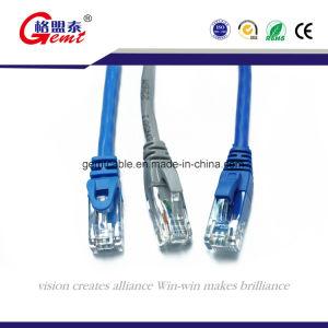 Cat5e de CAT5 CAT6 CAT7 CAT 6A Flat Cable de conexión de cable de red de cable con conector RJ45 Cable de conexi n