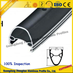Perfil de aluminio muebles para el transporte ferroviario Perfil Perfil de rieles deslizantes