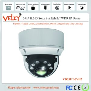 Rede de 3 MP Dahua vídeo IP Dome IV CCTV Câmara Digital