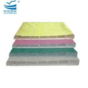 F8 de l'efficacité moyenne Pocket jaune Medias du filtre à air
