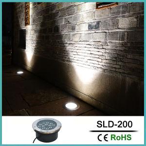 indicatore luminoso sepolto LED dell'acciaio inossidabile di 23W DC24V