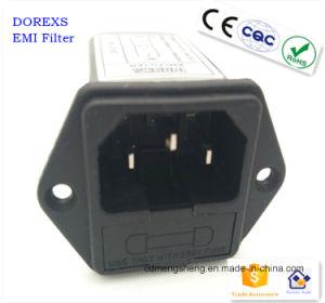 Les filtres Des filtres d'IEC bouchon EMI du connecteur du fusible double-
